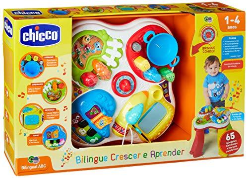 Mesa de atividades português/inglês, Chicco, Colorido