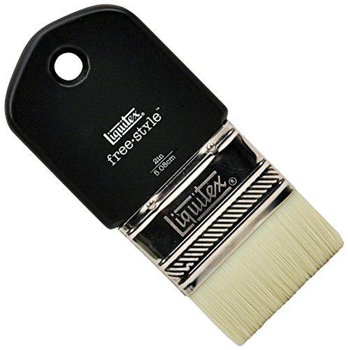Liquitex 1301002 Free Style XL Künstler - Pinsel, langlebig, formstabil aus hochwertigen synthetischen Faser für volle Kontrolle beim FarbauftragPaddle Pinsel - 2 Zoll