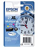 Epson 27 DURABrite Ultra Ink- Cartuccia d'Inchiostro, Multicolore (Cyan/Magenta/Yellow)