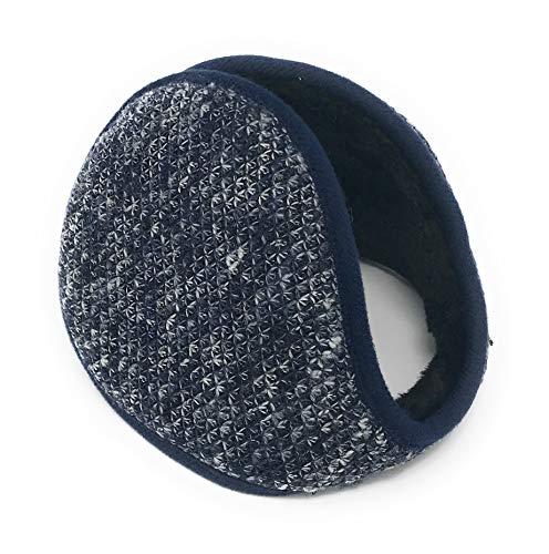 Realkontor Ohrenwärmer mit Innenfell Ohrenschützer Modell: Ohrenschmeichler, Blau, Einheitsgröße