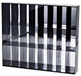 ProTech AFSBM 24 Slot Acrylic Display Case for 3' - 4' Action Figures (Wall-Mount), 18' W x 15.25' H x 2.5' D