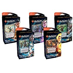 top rated MTG Magic The Gathering: Core Set 2021 M21 – All 5 Planeswalker Deck! 2021