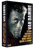 Van Damme : Cyborg + Kickboxer + Mort subite + Double impact + Chasse à l'homme [Francia] [Blu-ray]