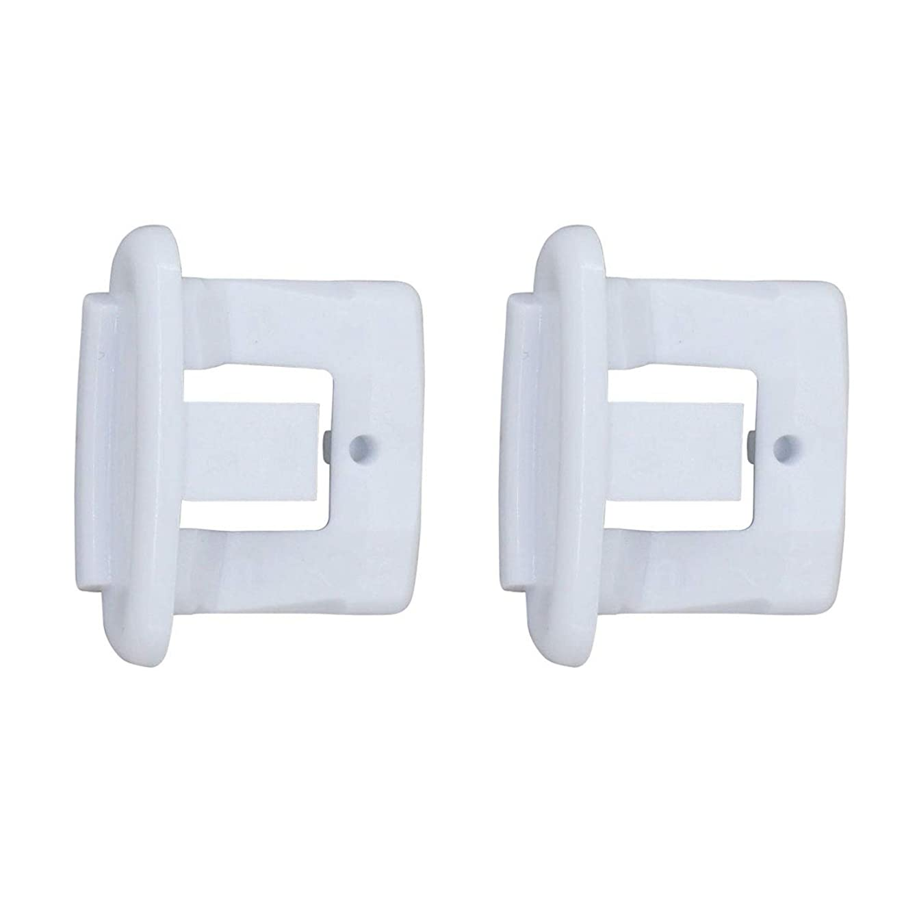 ApplianPar 2 Pack WD12X10304 Dishwasher Upper Rack Rail Slide End Cap for General Electric/Kenmore/Hotpoint WD12X344 AP4484666 PS2370502