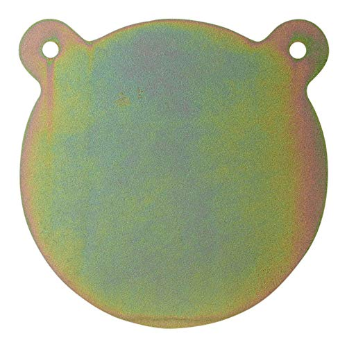 ShootingTargets7 - AR500 Steel Gong Target - 10 x 3/8 inch for Rifles to 308 - Laser Cut USA Steel