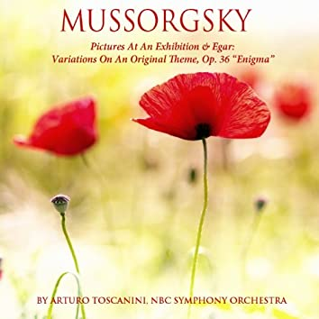 """Mussorgsky: Pictures at an Exhibition - Elgar: Variations on an Original Theme, Op. 36 - """"Enigma"""""""