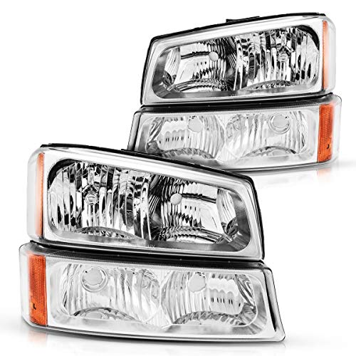 04 silverado oem headlights - 7