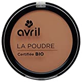 Avril Cosmetics Organic Pressed Powder Compact Foundation - Cuivre