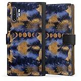 DeinDesign Étui Compatible avec Samsung Galaxy Note 10 Plus Étui Folio Étui magnétique Space...