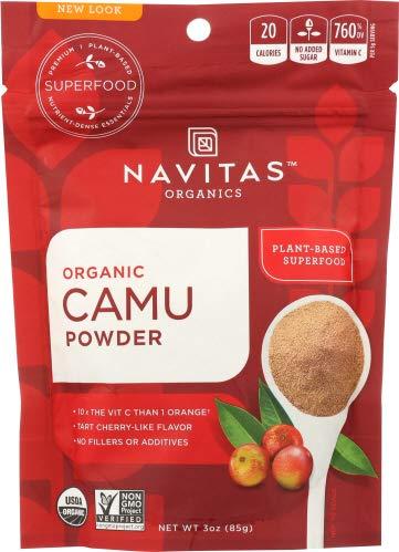 Navitas Camu Powder Organic 3.0 OZ (Pack of 4)