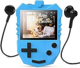MP3 Player for Kids, AGPTEK K1 Portable 8GB Children Music Player with Built-in Speaker, FM Radio, Voice Recorder, Expanda... photo