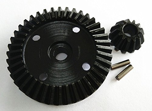 CrazyRacer Harden Steel Bevel Gear 40T & 13T for H-P-I Bullet ST MT Savage XS WR8 Flux 101215 101216