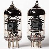 商品:ロシア製 (旧ソビエト) 真空管、デッドストック、同じ製造年月の2本セット メーカー:CCCP Svetlana 型番:6Ж2П ( 6J2P ) 互換情報:6AS6, 5725, 6F36 等(目安ですので、ご使用者でご確認ください。) 特性のマッチングは行っていません。