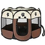 Tiandirenhe Recinto Plegable para Mascotas,Parque de...