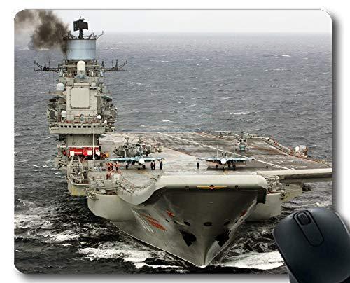 Yanteng Mauspads, Flugzeugträger Russischer Flugzeugträger Admiral Kuznetsov Kriegsschiff Jet Fighter Gaming-Mauspads Multi YT41
