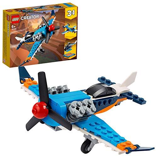 LEGO 6288719 LEGO Creator 3in1 Propellervliegtuig speelgoedvliegtuig 31099 bouwset, Multicolor