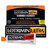 Lotrimin Ultra 1 Week Athlete's Foot Treatment, Prescription Strength Butenafine Hydrochloride 1%, Cures Most Athlete?s Foot Between Toes, Cream, 1.1 Ounce
