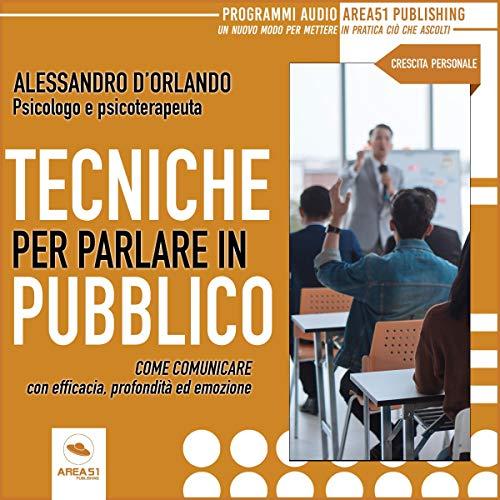 Tecniche per parlare in pubblico copertina