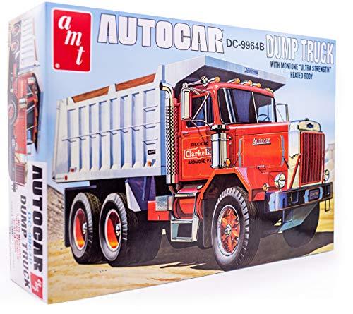 AMT Autocar Dump Truck - 1/25 Scale Model Truck...
