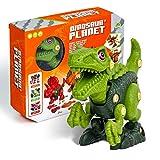 Take Apart Dinosaur Toys for Boys STEM Learning Dinosaur Building Toy Set Dinosaur Toys for Kids 3-5 Green Velociraptor Perfect Birthday Xmas Gift for Boys Girls