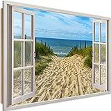 Cuadro Imagen XXL con 3D efecto Impresión de arte Paisaje Mar Multi 120x80 cm