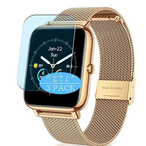 VacFun 3 Piezas Filtro Luz Azul Protector de Pantalla, compatible con CanMixs B85 Smartwatch Smart watch, Screen Protector Película Protectora(Not Cristal Templado)