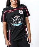 RC Deportivo Temporada 2018/19 Entrenamiento Camiseta, Unisex, Negro, S