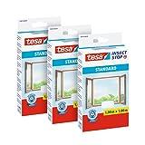 tesa Insect Stop Malla - Mosquitera STANDARD para ventanas en paquete de 3,...