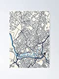 AZSTEEL Bristol Poster | Best Gift for Family and Your