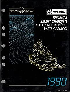 1990 SKI-DOO TUNDRA/LT SAFARI CITATION/E PARTS MANUAL P/N 480 1248 00 (255)