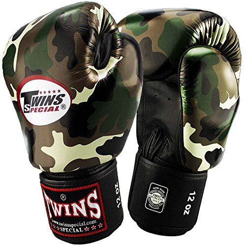 Twins Boxhandschuhe, Jungle Green Army,...