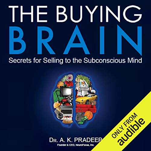 The Buying Brain audiobook cover art