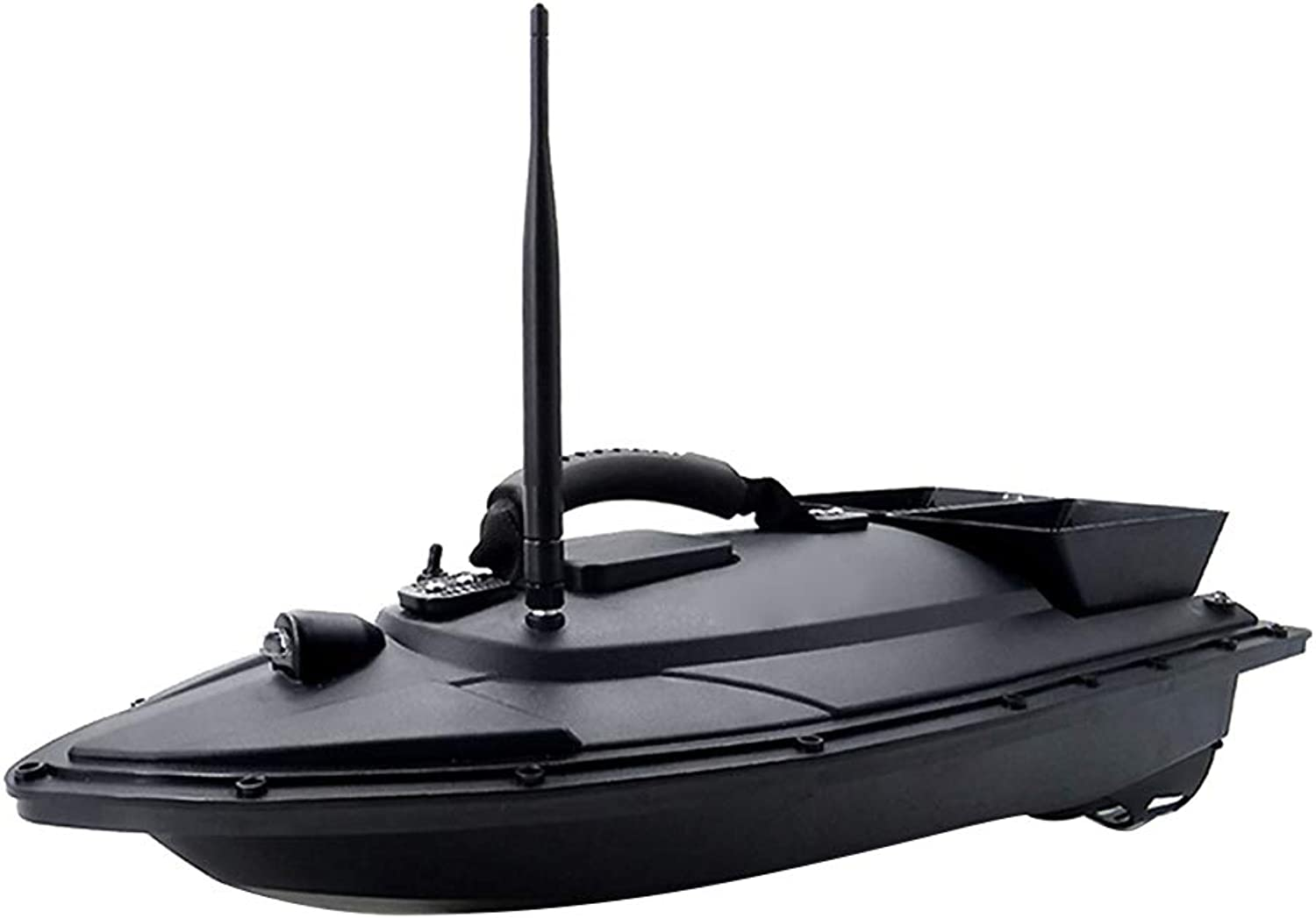 Fishing bait boat Intelligent Remote Control 500 Meters Wireless Long Distance ABS Material 1.3 KG Capacity with Double Motor Fishing Boat, Size 54  16  26.5CM