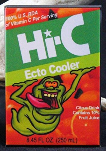 Hi-C Ecto Cooler Refrigerator Magnet. Slimer Ghostbusters