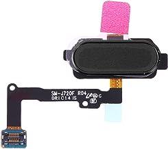 MUJUN Cell Phones Spare Accessories Fingerprint Sensor Flex Cable Repair Part Replacement for Samsung Galaxy J7 Duo SM-J720F (Color : Black)