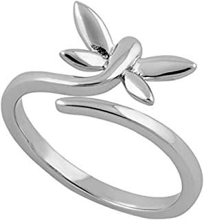 DiscountHouse4you Daisy Flower Knuckle Rings Toe Rings for Women Teen Ladies Adjustable Knuckle Toe Ring Jewelry for Her 14k Gold Finish