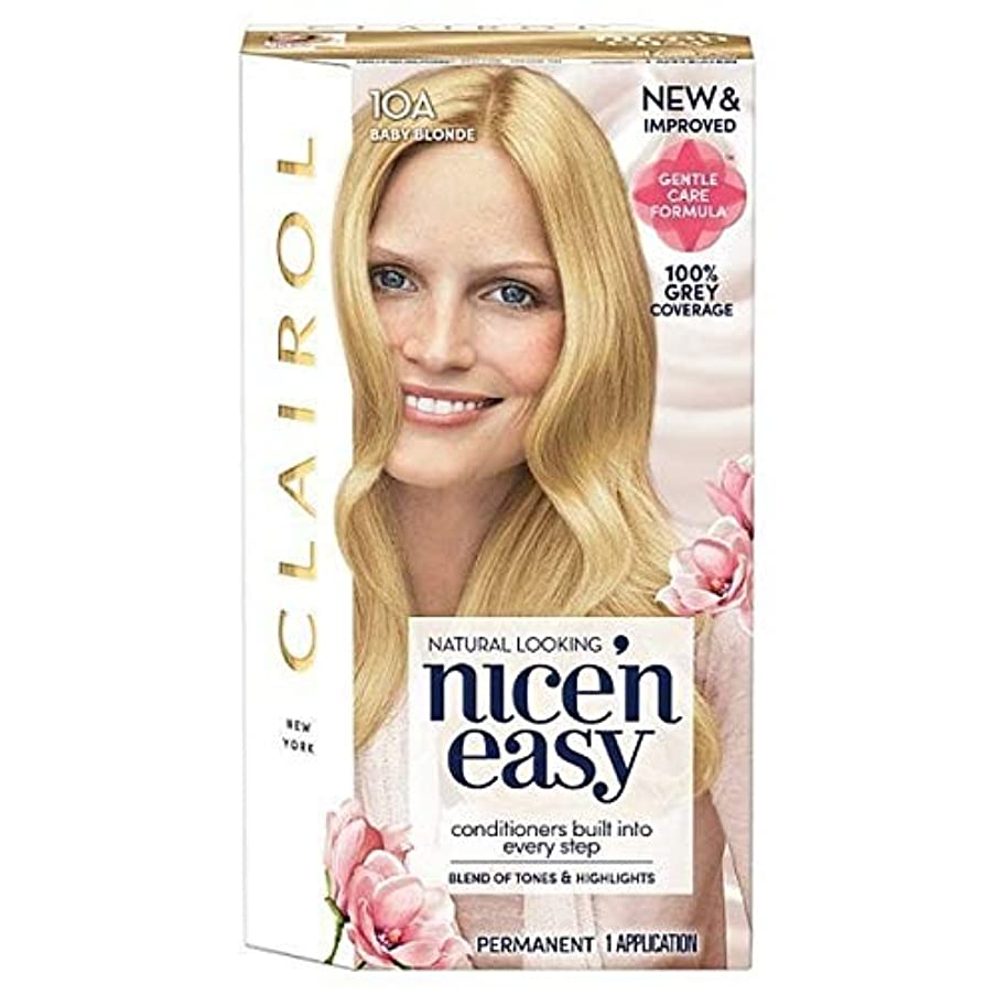 シンク論争の的眠り[Nice'n Easy] Nice'N簡単10Aは赤ちゃんのブロンド - Nice'n Easy 10A Baby Blonde [並行輸入品]