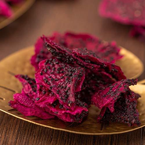 süssundclever.de® Bio rote Drachenfrucht | 500 g | Premium Qualität | ungezuckert und unbehandelt | plastikfrei und ökologisch-nachhaltig abgepackt