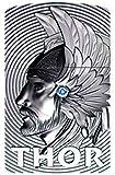 Zippo 16973Thor 3D Emblem–with Blue...