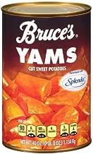 Bruce's Yams, Sweet Potatoes Sweetened with Splenda, 40 oz. can (2 Pack)