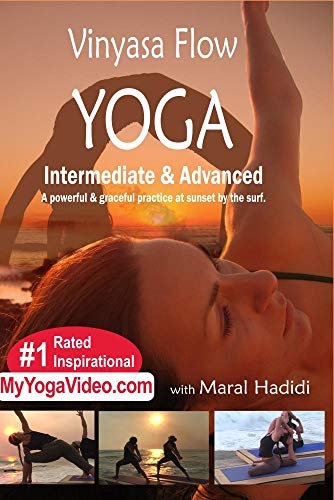 Vinyasa Flow Yoga, Grace, Power, Surf, and Sunset, Intermediate & Advanced, a ***Practice DVD***