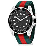 Gucci Orologio YA136209A Rosso Acciaio 316 L Uomo