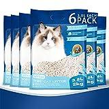 Nobleza Arena para Gatos Vegetal y Aglomerante, 22.8 L, Arena de maíz para Gatos Biodegradable, lecho para Gatos Libre de Polvo Paquete