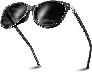 Gafas de Sol Mujer, Gafas de sol Clásicas de Estilo Vintage Lentes Espejadas con Protección UV400