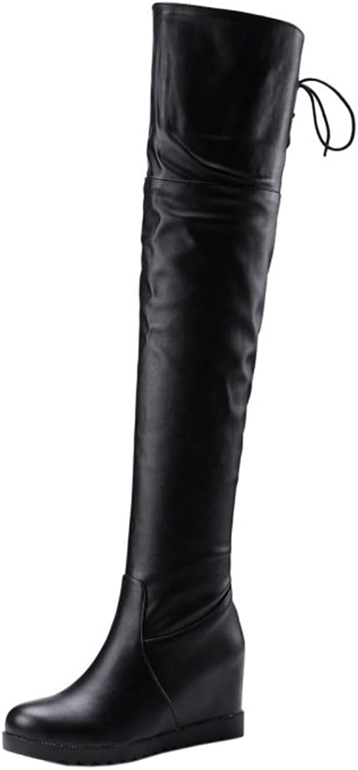RizaBina Women Fashion Boots Thigh High