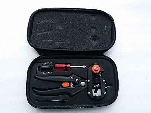 Hand Veredlung Maschine, Garten/Koffer Grafter Black/White Schere, Obst Baum Graft Herren Stiefel Messer, Mini Luxus Verpackung Fashion Sämling Werkzeug