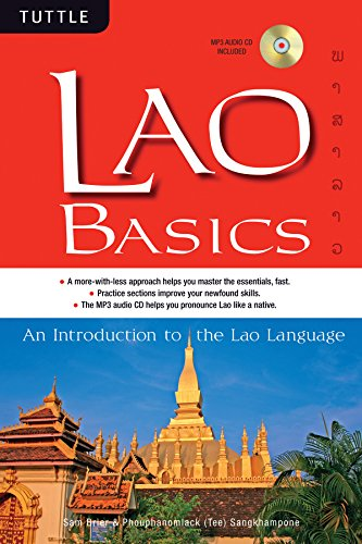 Compare Textbook Prices for Lao Basics: An Introduction to the Lao Language Audio CD Included Tuttle Basics Paperback with disc Edition ISBN 9780804840996 by Brier, Sam