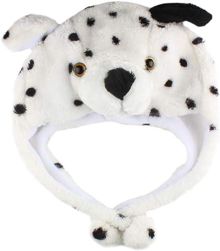 new arrival Larcele Cartoon lowest Animal Shaped Plush Hat Plush Animal Cap Party sale Dress Up Headdress DWMZ-01 online