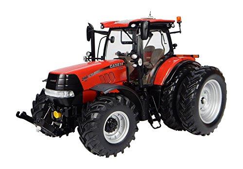 Universal Hobbies - UH4961 - Tracteur - Case Ih Puma modèle CVX 240 - Rouge - Échelle 1/32