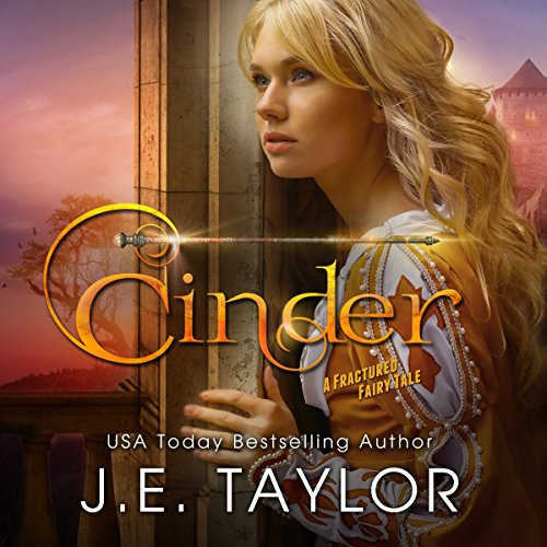Cinder: A Fractured Fairy Tale audiobook cover art
